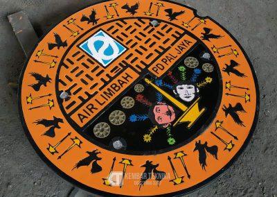 Manhole Cover DKI Jakarta Unik