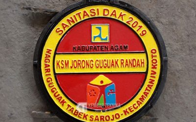 Manhole Kabupaten Agam (DAK Sanitasi)
