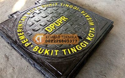 Manhole Cover Baja Cor DPUPR Bukit Tinggi Kota Wisata
