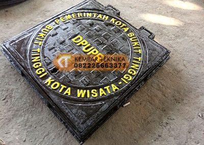 Manhole Cover Baja Cor DPUPR Bukit Tinggi
