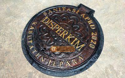 Tutup Besi Saluran Air Manhole Cover Berkualitas